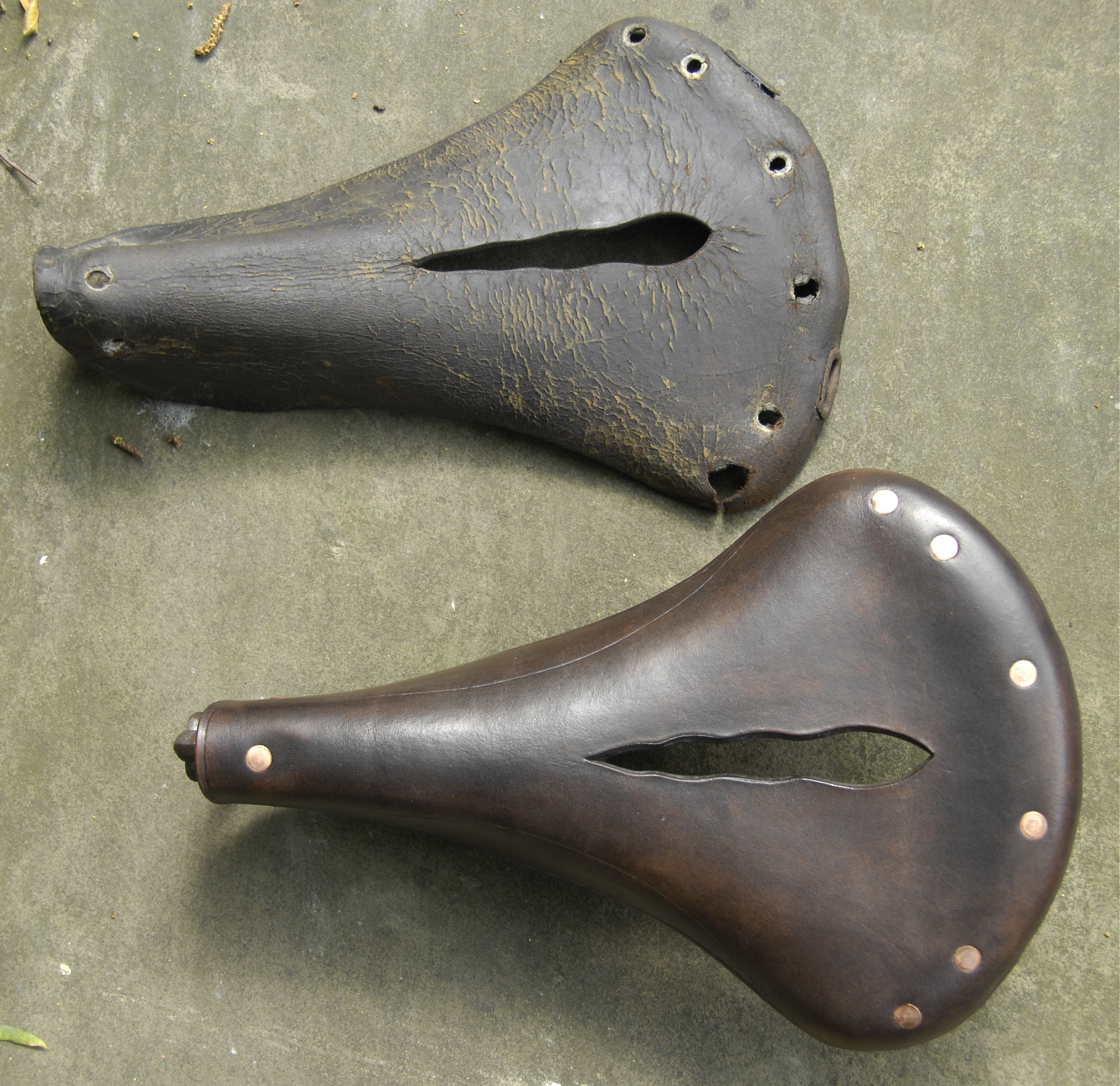 Vintage Bicycle Seats : Solid tyred safety bicycle saddle vintage