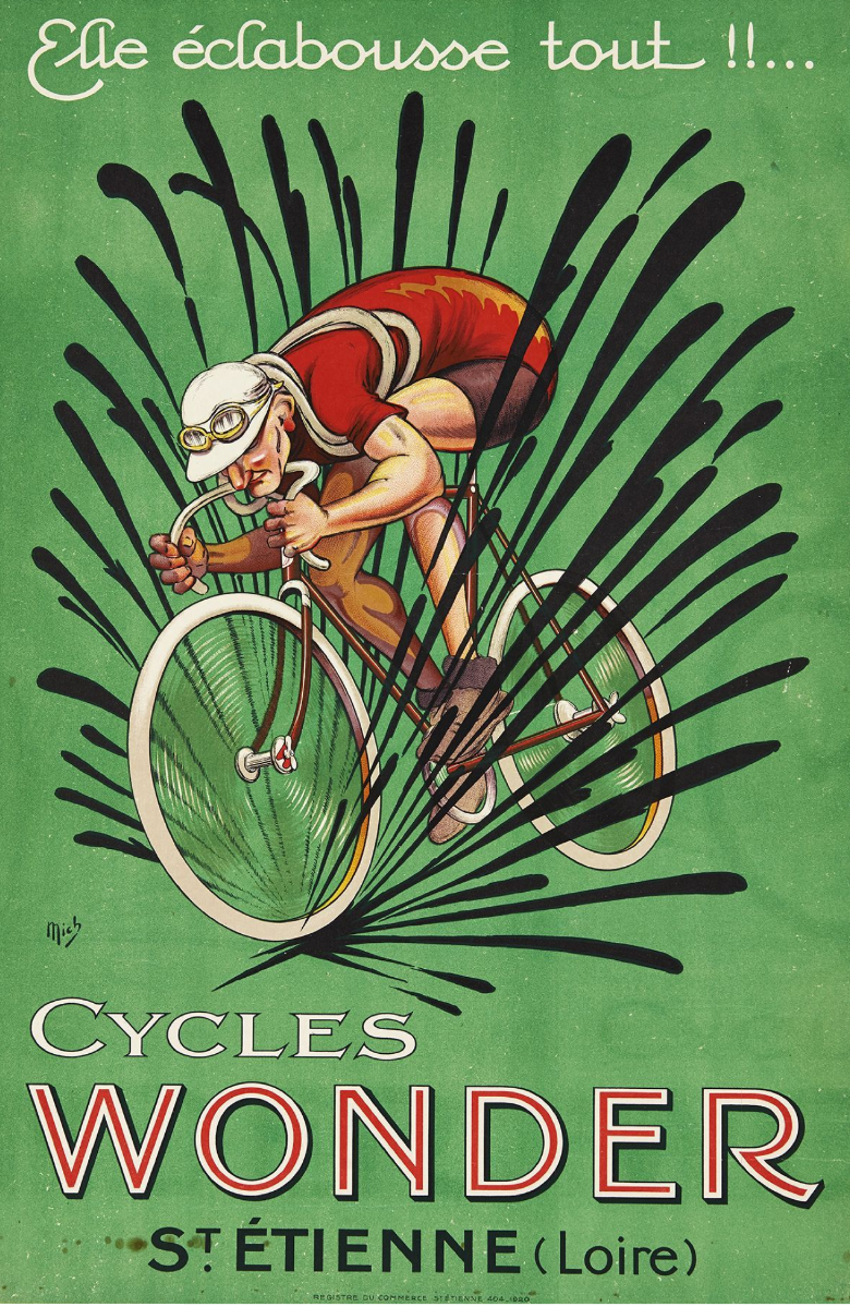 Vintage Cycling Art